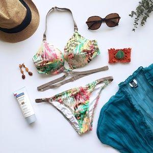 Victoria's Secret Strappy Halter Bikini (NWOT)